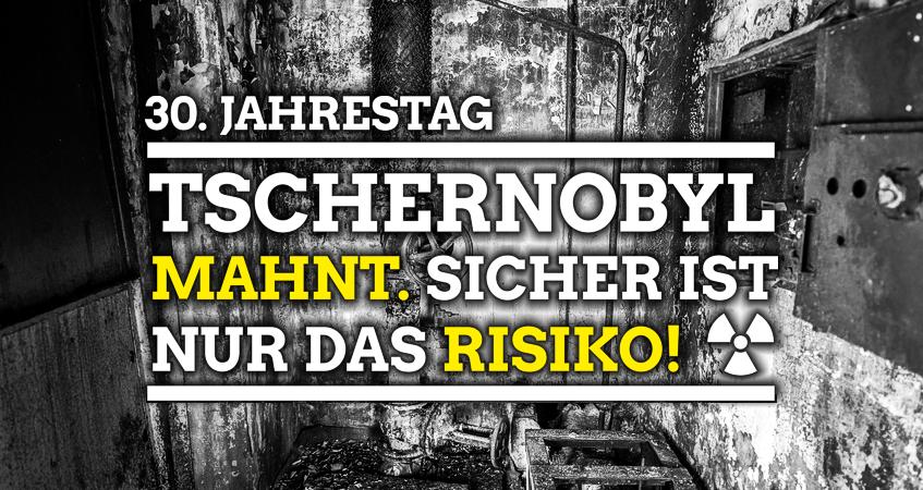 """""""Nie wieder Tschernobyl, nie wieder Fukushima: Tihange und Doel abschalten:""""- Martina Maaßen, MdL"""