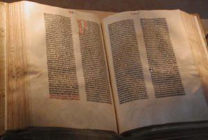 Gutenbergbibel foto/raul654