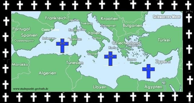 Leichentuch Mittelmeer