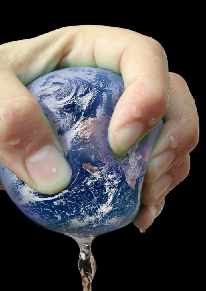 Wir quetschen unsere Erde nur aus…